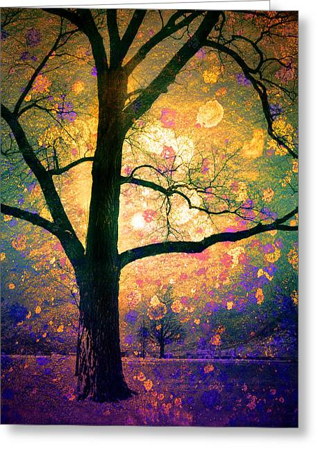 Fantasy Tree Art Greeting Cards - These Dreams Greeting Card by Tara Turner