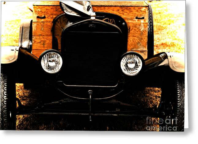 Ford Model T Car Greeting Cards - Things that crank Greeting Card by Steven  Digman