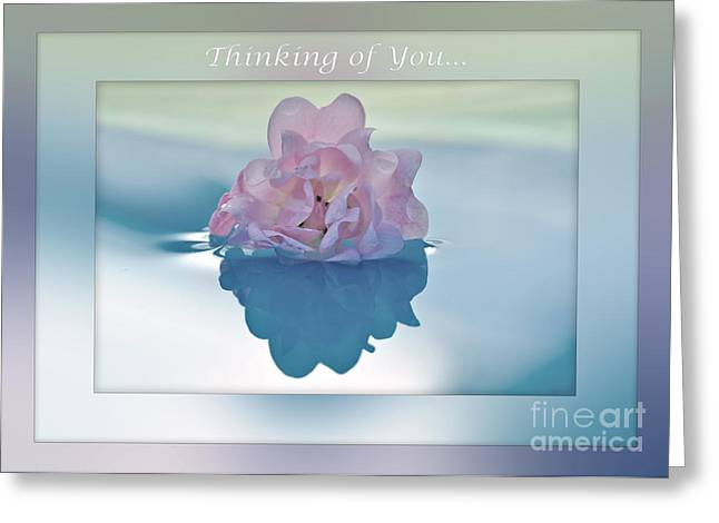 Thinking Of You Greeting Cards - Thinking of You... Greeting Card by Kaye Menner