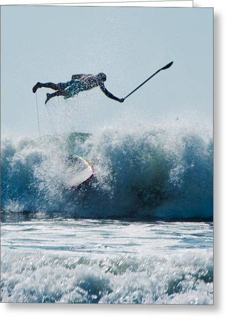 Wipe Out Greeting Cards - This is going to hurt Greeting Card by Steven Natanson