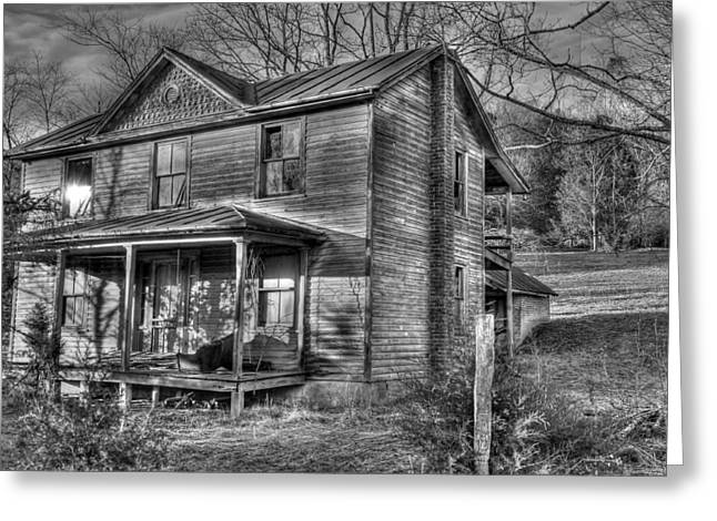 This old House Greeting Card by Todd Hostetter