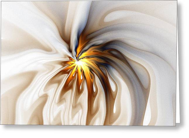 Flowers Digital Art Greeting Cards - This too will pass... Greeting Card by Amanda Moore