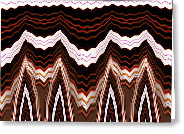 Abstract Style Greeting Cards - Thisbe No.3 Greeting Card by Danny Lally