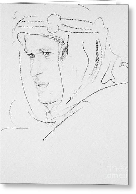 20th Greeting Cards - Thomas Edward Lawrence Greeting Card by Granger