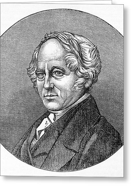 British Portraits Greeting Cards - Thomas Hancock, British Inventor Greeting Card by