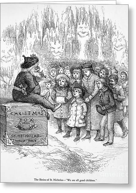 Thomas Nast: Christmas Greeting Card by Granger