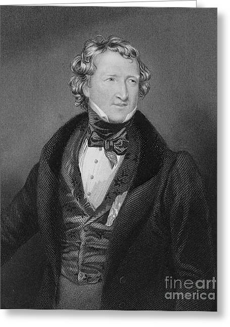 Reformer Greeting Cards - Thomas Wakley, English Coroner Greeting Card by Science Source