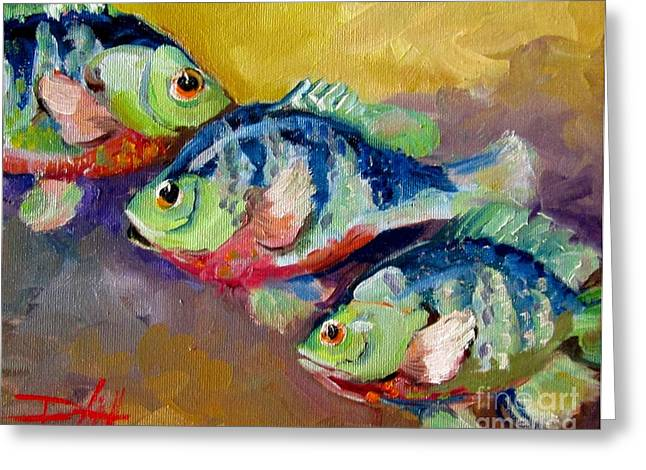 Abstract fish paintings by famous artists