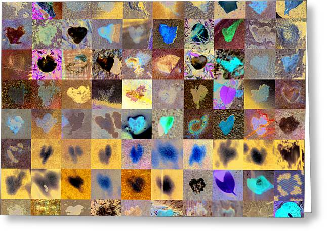 Heart Images Greeting Cards - Three Hundred Series Greeting Card by Boy Sees Hearts