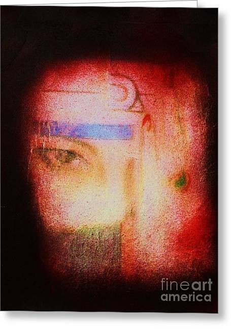 Mental Process Greeting Cards - Through a Glass Darkly Greeting Card by Roberto Prusso
