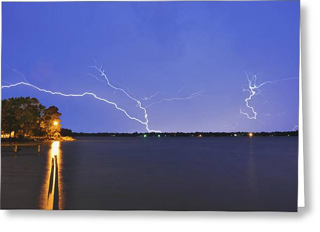 Donnie Smith Greeting Cards - Thunderstorm Greeting Card by Donnie Smith