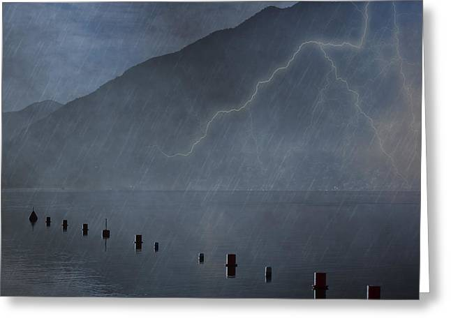 Thunderstorm Greeting Cards - Thunderstorm Greeting Card by Joana Kruse