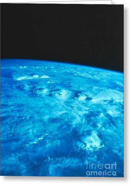 Thunderstorm Greeting Cards - Thunderstorms Over Africa Greeting Card by Science Source