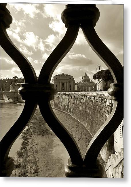 Stellina Giannitsi Greeting Cards - Tiber Greeting Card by Stellina Giannitsi