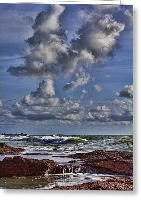 Rocks. Tidal Pool Greeting Cards - Tidal Pool  Greeting Card by Douglas Barnard