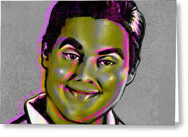 Eric Greeting Cards - Tim Heidecker Greeting Card by Fay Helfer