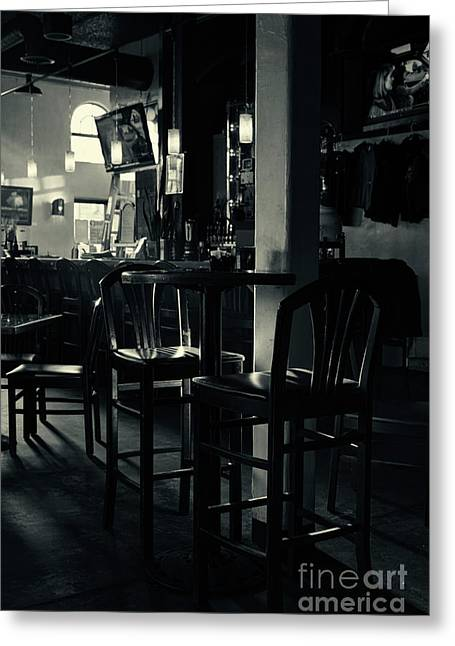 Local Restaurants Greeting Cards - Time - Late afternoon Greeting Card by Hideaki Sakurai