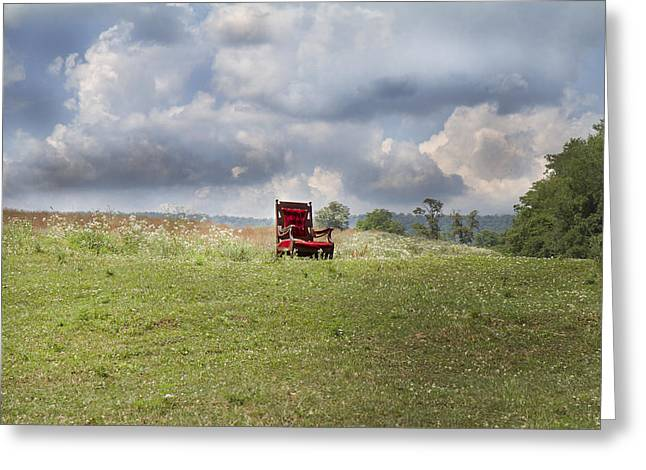 Time Alone Greeting Card by Betsy C  Knapp