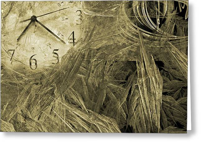 Calculate Greeting Cards - Time Piece I Greeting Card by Betsy C  Knapp