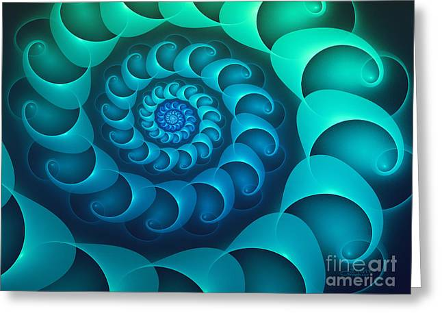 Repetition Greeting Cards - Timeless Greeting Card by Jutta Maria Pusl