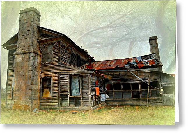 Times Long Gone Greeting Card by Marty Koch
