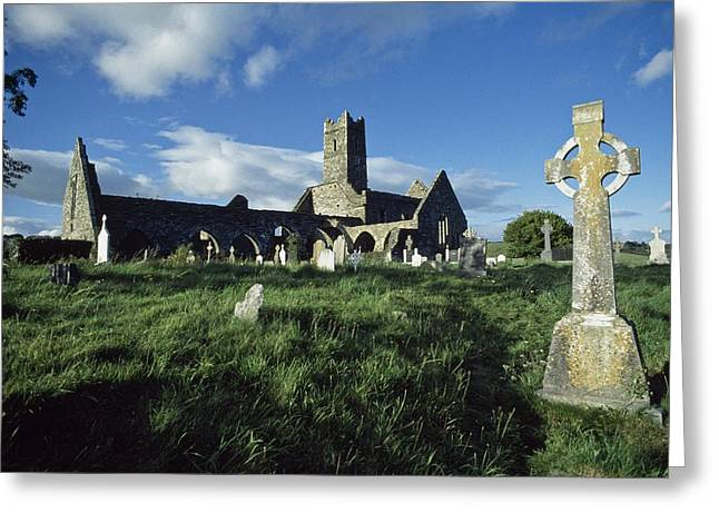 Monasticism Greeting Cards - Timoleague Abbey, Co Cork, Ireland 13th Greeting Card by The Irish Image Collection