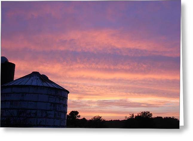 Indiana Farm Greeting Cards - Tin Can Alley Greeting Card by Ed Smith