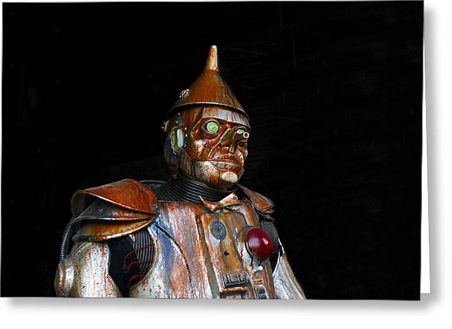 Movie Art Greeting Cards - Tin Man Greeting Card by David Lee Thompson