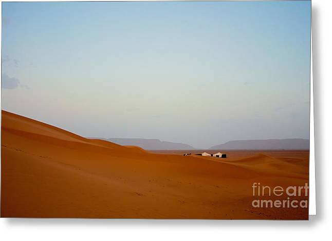 Nabucodonosor Perez Greeting Cards - Tinfou dunes Greeting Card by Nabucodonosor Perez