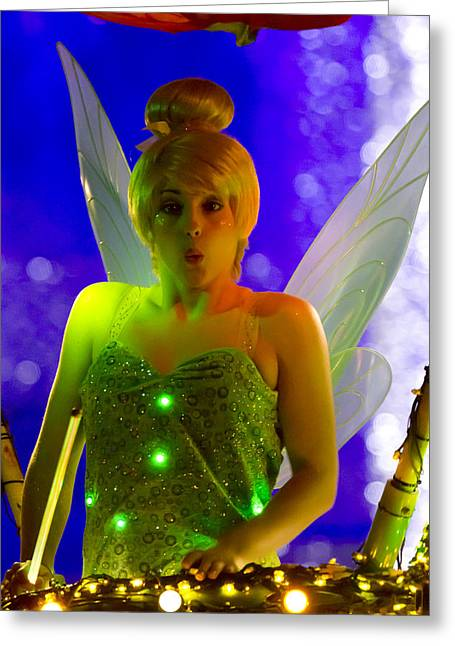 Tinker Bell Greeting Cards - Tink Greeting Card by Nicholas Evans