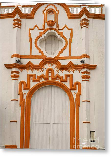 Tlacotalpan Church Veracruz Mexico Greeting Card by John  Mitchell
