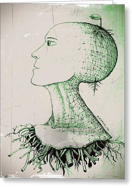 Stagnant Greeting Cards - To Germinate Ideas Greeting Card by Paulo Zerbato
