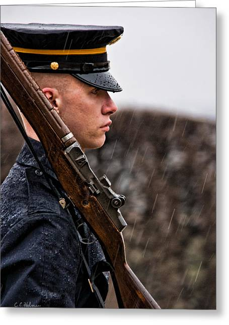 Christopher Holmes Greeting Cards - To Guard With Honor Greeting Card by Christopher Holmes