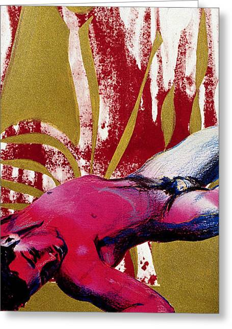 Queer Greeting Cards - To Kill A Dead Boy Greeting Card by Rene Capone