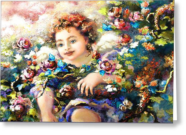 Playing Cards Greeting Cards - To Mom-John Greeting Card by Mary J Russell