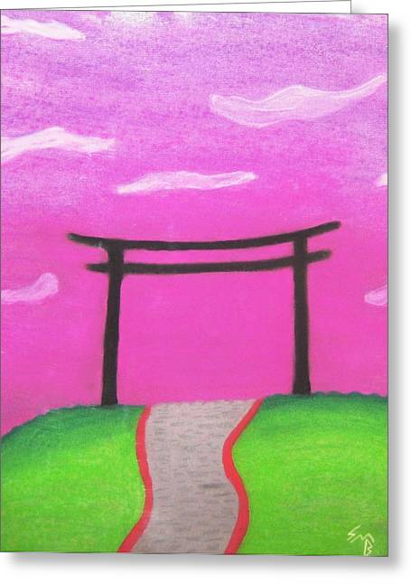 Uplifting Pastels Greeting Cards - To See The Other Side Greeting Card by Shawn Ballard