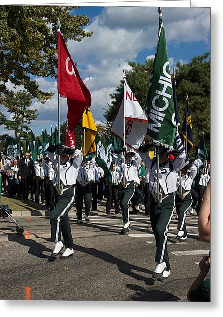 Marching Band Greeting Cards - To the Field Greeting Card by Joseph Yarbrough