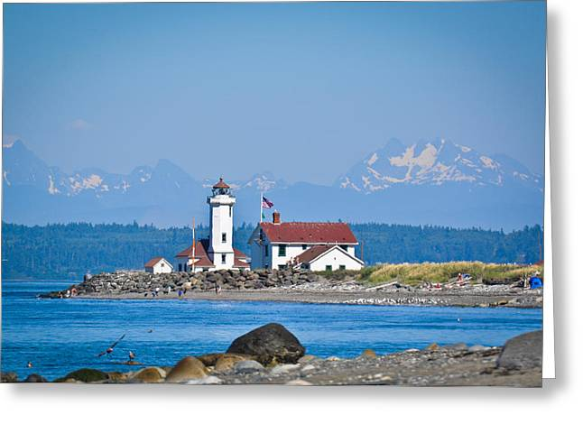 Nikon D90 Greeting Cards - To the Lighthouse Greeting Card by Ronda Broatch