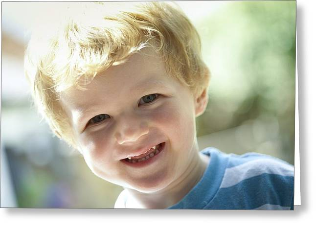 2-3 Years Greeting Cards - Toddler Greeting Card by Ruth Jenkinson