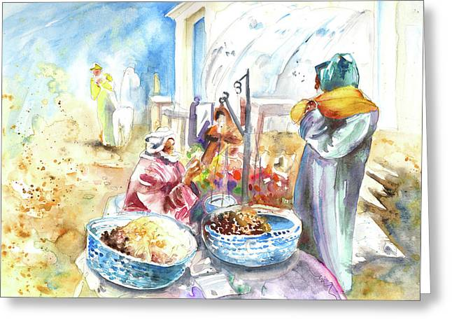 Together Old In Morocco 01 Greeting Card by Miki De Goodaboom