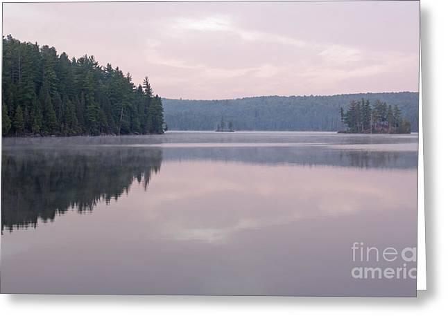 Chris Hill Greeting Cards - Tom Thomson Lake Vista Greeting Card by Chris Hill
