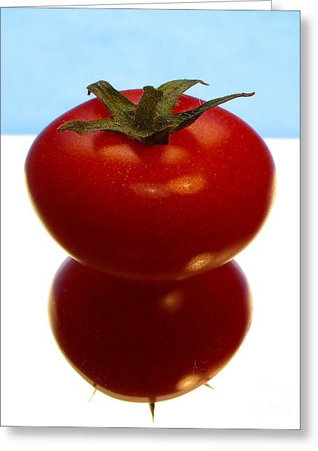 Sweating Photographs Greeting Cards - Tomato Greeting Card by Odon Czintos