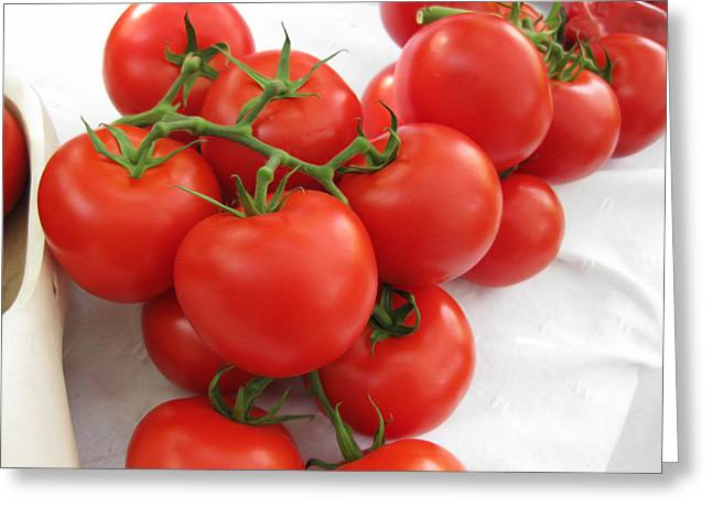 Heinz Ketchup Greeting Cards - Tomatoes Greeting Card by Nop Briex