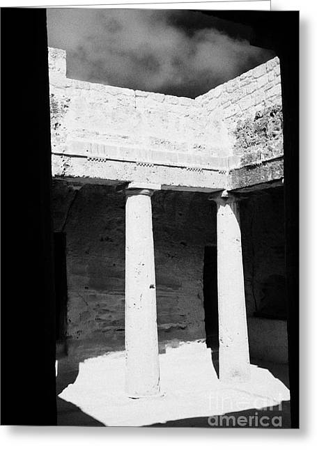 Pafos Greeting Cards - Tomb 3 Of Tombs Of The Kings World Heritage Site Paphos Republic Of Cyprus Europe Greeting Card by Joe Fox