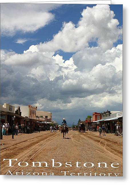 Arizona Greeting Cards - Tombstone Greeting Card by Joe Kozlowski