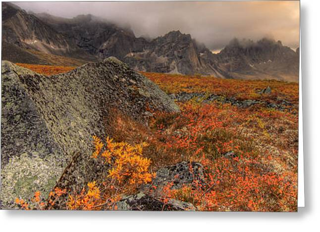 Tombstone Territorial Park Greeting Cards - Tombstone Mountain, Tombstone Greeting Card by Robert Postma