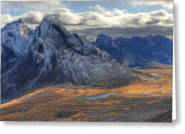 Monolith Greeting Cards - Tombstone Pass With Mt. Monolith Greeting Card by Robert Postma