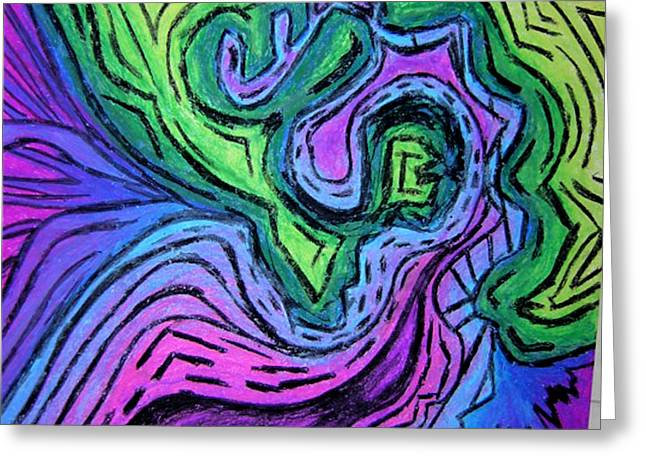 Interpretation Greeting Cards - Tonight and the Rest of My Life Greeting Card by Jera Sky