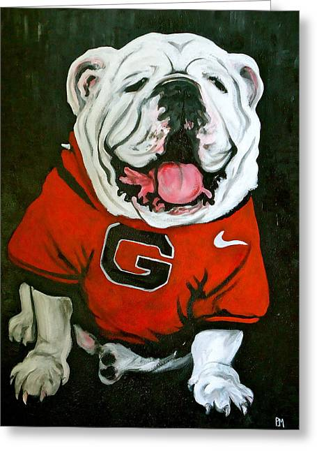 Nike Greeting Cards - Top Dawg Greeting Card by Pete Maier