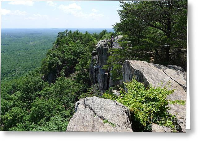 Gaston County Photographs Greeting Cards - Top of the Rock Greeting Card by Joel Deutsch